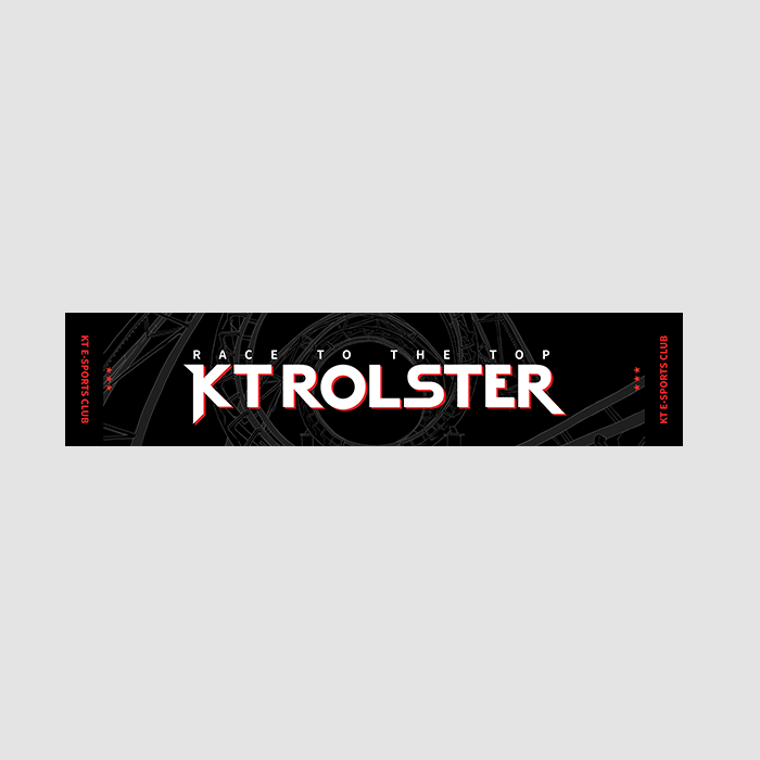 [kt Rolster] Race to the Top 응원타올